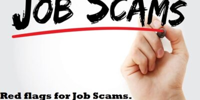 Red flags for Job Scams. How to avoid Job scams in India.